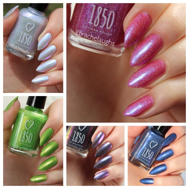 1850 Artisan Polish GIVEAWAY! – Rachelaughs Nails