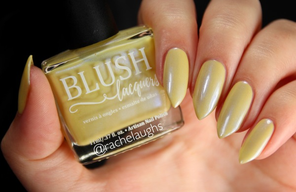 Blush Lacquers Banana Boat Float Rachelaughs Nails
